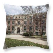 Hayes Hall Osu Throw Pillow