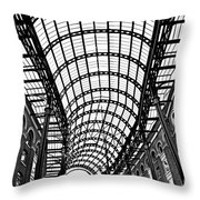 Hay's Galleria Roof Throw Pillow