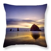 Haystack Afterglow Throw Pillow
