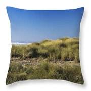 Haystack And Sea Grass Throw Pillow