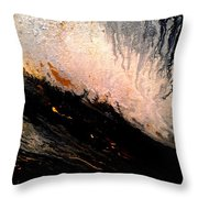 Hazey Throw Pillow