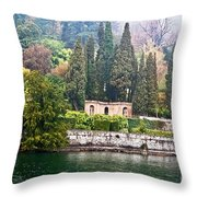 Hazy Spring Day Throw Pillow