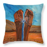 He Is The Rock  Throw Pillow