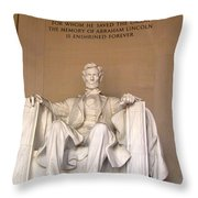 He Saved The Union Throw Pillow
