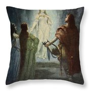 He Saw A Beautiful Woman, From The Throw Pillow