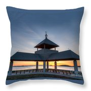 Head Island Pavillion Throw Pillow