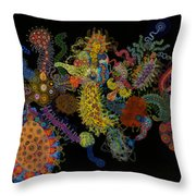 Head Long Throw Pillow