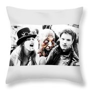Head Of The Death Throw Pillow