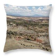 Head Of The Rocks Overlook - Utah's Scenic Byway 12 Throw Pillow