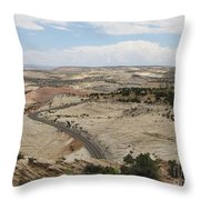 Head Of The Rocks - Scenic Byway 12 Throw Pillow