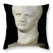 Head Of Titus Throw Pillow