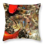 Head Or Tails Throw Pillow