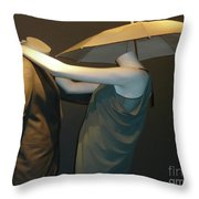 Head Over Heels Throw Pillow