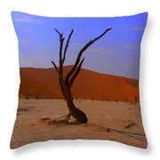 Head Stand Throw Pillow