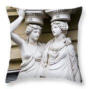 Headache In Vienna Throw Pillow
