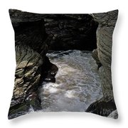 Headed For A Fall Throw Pillow