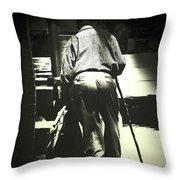 Headin' On Home Throw Pillow