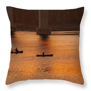 Heading Home Belfast Maine Img 6036 Throw Pillow