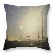Heading South On The Kennedy Throw Pillow