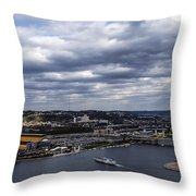 Heading To The Game Throw Pillow