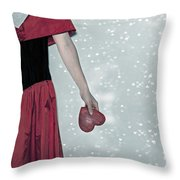 Headless Love Throw Pillow by Joana Kruse