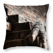 Headless Throw Pillow