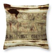 Headon And Son Throw Pillow