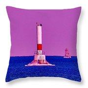 Headwater Lights 2 Throw Pillow