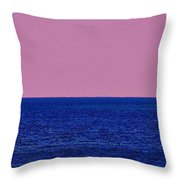 Headwater Lights Throw Pillow
