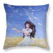Healer's Gift Throw Pillow
