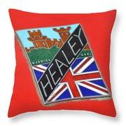 Healey Silverstone D Type Throw Pillow
