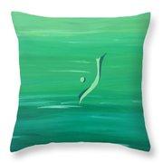 Healing And Meditation - Peace Throw Pillow