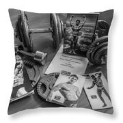 Health And Strength Throw Pillow