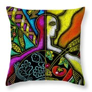Health Food Throw Pillow