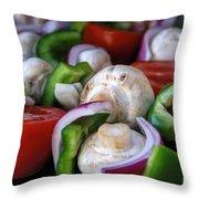 Healthy Choice Throw Pillow