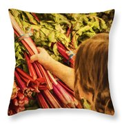 Healthy Choices Throw Pillow