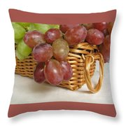 Healthy Snack Throw Pillow