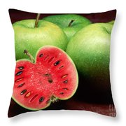 Healthy Trick Throw Pillow