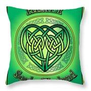 Healy Soul Of Ireland Throw Pillow