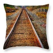 Hear My Train Comin Throw Pillow