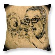 Hear The Music Throw Pillow