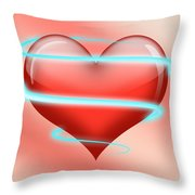 Hearbeat 1 Throw Pillow