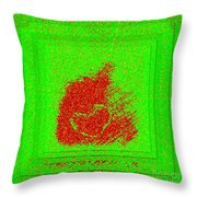 Heart And Pepper Throw Pillow