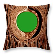 Heart Beat Of The Tree Throw Pillow