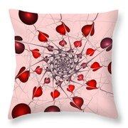 Heart Catcher Throw Pillow