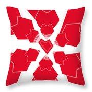 Heart Flower 1 Throw Pillow