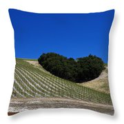 Heart Hill Paso Robles Throw Pillow