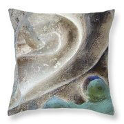 Heart Locked In Throw Pillow