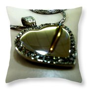 Heart Throw Pillow by Marcello Cicchini