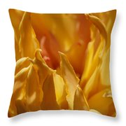 Heart Of A Peony 2 Throw Pillow